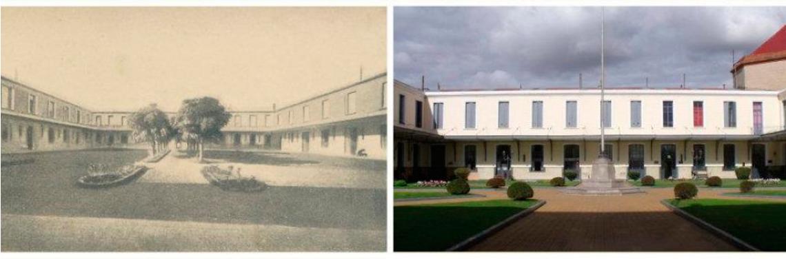 fachada antes y despues