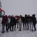 alumnos de viaje
