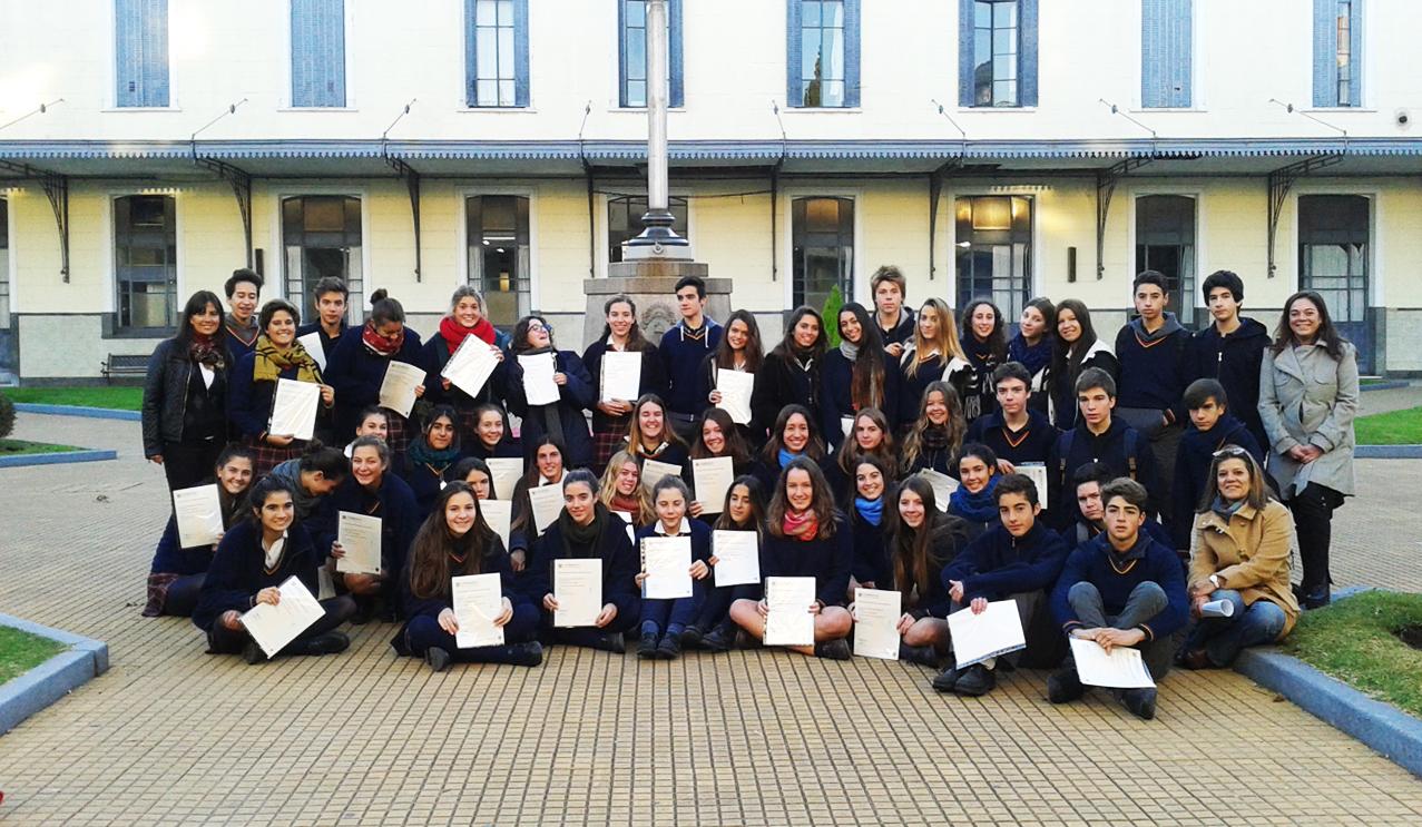 alumnos con reconocimiento