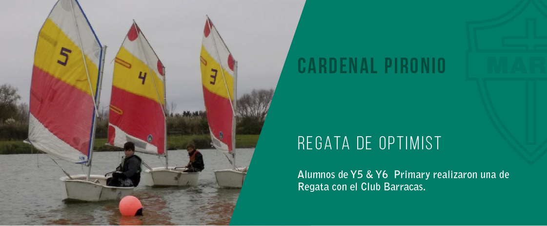 noticia regata del colegio cardenal pironio
