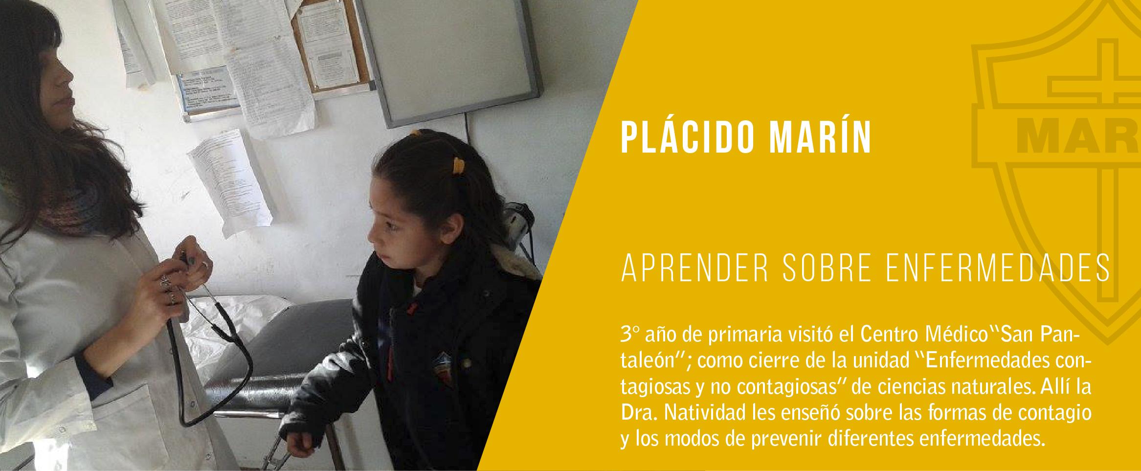 Noticia. aprender sobre enfermedades en el colegio plácido marín