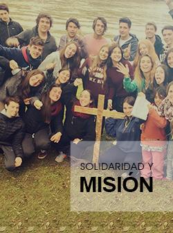 sección solidaridad y misión